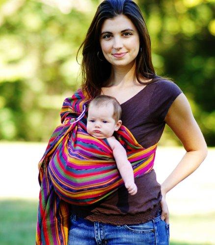 Baby Sling/Wrap (Medium - Bright Stripe)